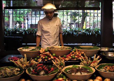 Restaurant i Hanoi